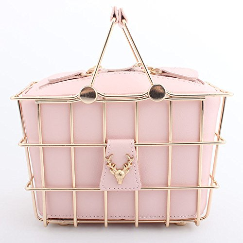 Handbag Purse Wedding Party Evening Clutch Ladies Pink Small Bridal Clutch Crossbody Handbag Elegant Bridal Diamante Bag 0q8TxFwxH