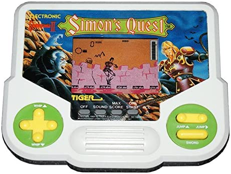 Castlevania II Simons Quest Tiger Electronic Handheld Game by MADE BY TIGER ELECTRONCIS: Amazon.es: Juguetes y juegos