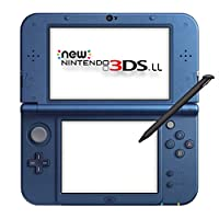 New Nintendo 3DS LL Metallic Blue (Japanese Imported Version - only plays Japanese version games)