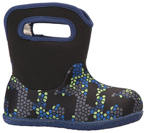 Penguins Baby Winter Bogs Multi Snow Black Classic Boot HESSwP
