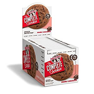 Lenny & Larry's The Complete Cookie! (4 oz. Cookie, Pack of 12, Double Chocolate)