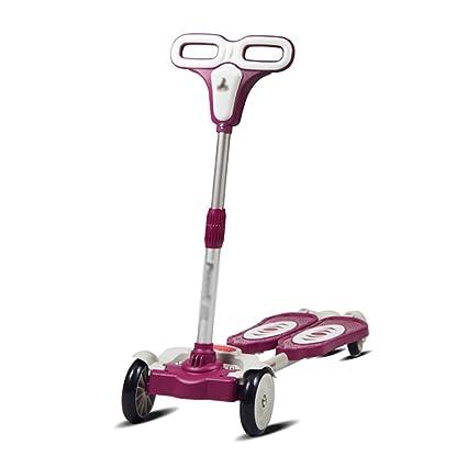 Patinete- Scooter para niños Cuatro Rondas Twist Car Baby 3 ...