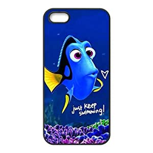 Lucky Lovely crystal blue fish Cell For HTC One M7 Phone Case Cover