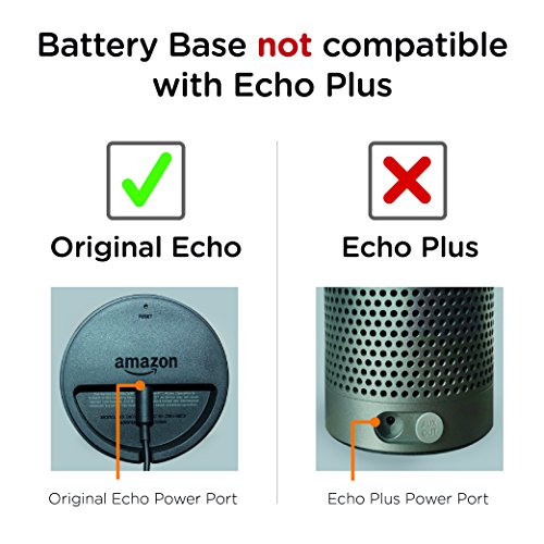 Portable Battery Base For Echo Use Echo Anywhere Not