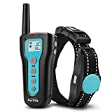 Training Dog Collar - Dog Training Collar 1000ft Remote 2018 Upgraded Dog Shock Collar Rechargeable & Waterproof Beep Vibration Harmless Safe Electronic Collar Small Medium Large Dogs