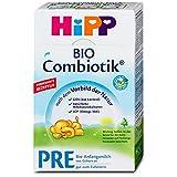 HiPP PRE Combiotik Bio-Anfangsmilch von Geburt an, 4er Pack (4 x 500g)