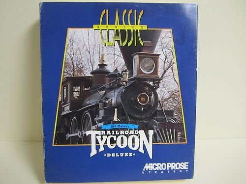 Price comparison product image Sid Meier's Railroad Tycoon Deluxe DOC CD-ROM