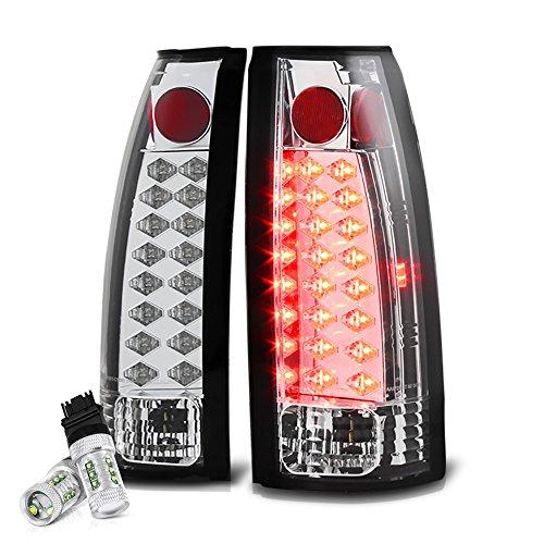 [Cree LED Reverse Bulbs] - VIPMotoZ 1988-2002 Chevrolet GMC C/K 1500 2500 3500 Pickup LED Tail Lights, Driver & Passenger Side