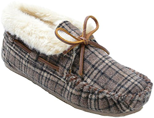 Minnetonka Chrissy Women's Slipper 5 B(M) US Brown