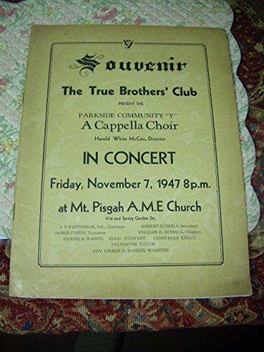 Mt Billet (Souvenir The True Brothers Club : Present the Parkside Community