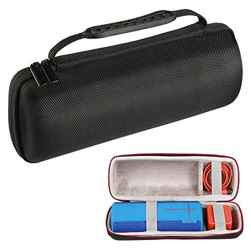 luckynv Funda de transporte de viaje para Ultimate Ears UE BOOM 1/UE BOOM 2Altavoz Bluetooth inalámbrico negro