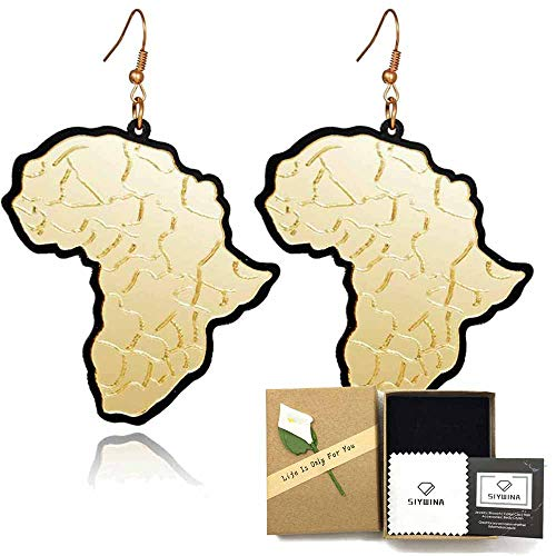 Acrylic Earrings for Women Statement Earrings Fashion Hypoallergenic Dangle (style 01) ()
