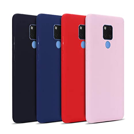Anfire 4x Funda Huawei Mate 20 X, Silicona Case Suave Gel ...
