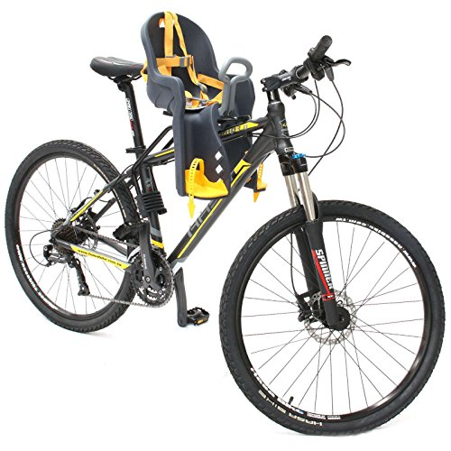 - CyclingDeal Bicycle Kids Child Front Baby Seat Bike Carrier USA Standard with Handrail