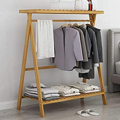 Amazon.com: ZHHL - Perchero 3 en 1 de pie para ropa ...