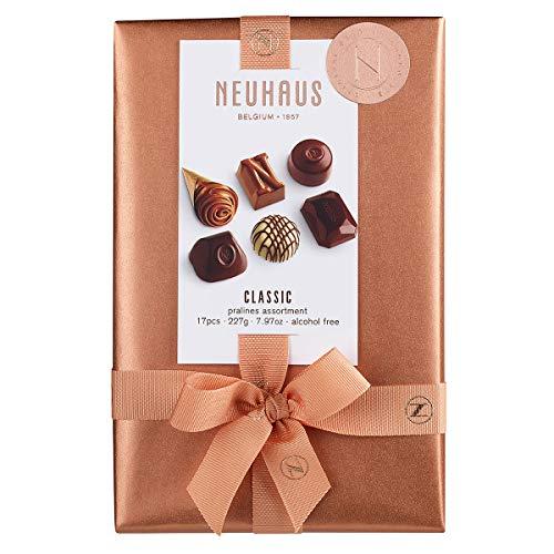 Neuhaus Belgian Chocolate Ballotin (17 pieces) - Gourmet Chocolate Gift Box - 1/2 lb