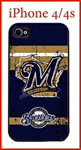 iphone covers MLB Milwaukee Brewers Iphone 5c Case Hard Silicone Case