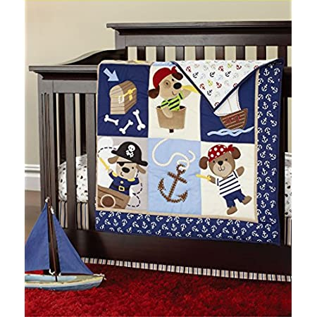 51ZKYZC-j%2BL._SS450_ Nautical Crib Bedding and Beach Crib Bedding