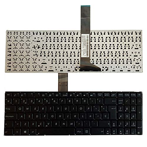 Laptop Replacement Keyboard Fit Asus X550V X550VB X550VC X550VL X550W X550WA X550WE X550Z X550ZA Spanish Layout -  YUHUAI