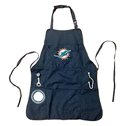 e6af6faa Amazon.com: Ashley Gifts Customizable Embroidered Apron, Mens, Miami ...