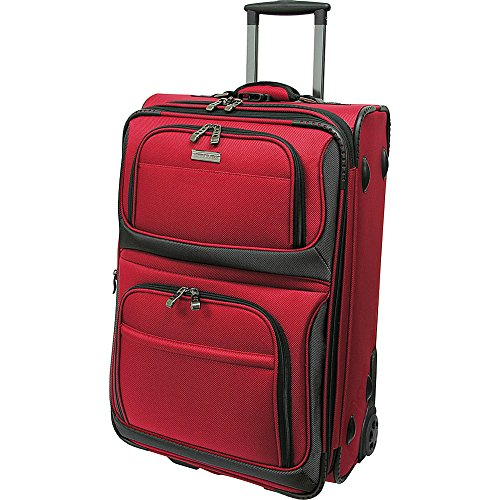 travelers-choice-conventional-ii-22-inch-rugged-rollaboard-red