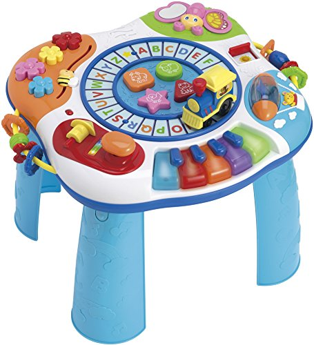 First Note Train Whistle - WinFun Letter Train & Piano Activity Table