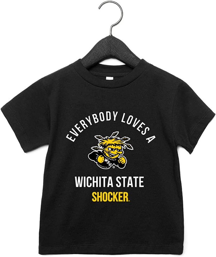 NCAA Wichita State Shockers RYLWIC15 Toddler Short Sleeve Tee