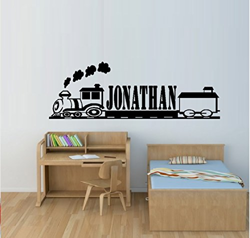 BestPricedDecals TRAIN # 2 (CUSTOM NAME) Children ~ Wall Decal 12