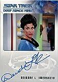 #8: Star Trek DS9 Heroes & Villains Autograph Card Deirdre Imershein as Lt. Watley