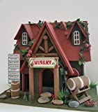 Vineyard Cottage Birdhouse is an absolutely adorable Wood Bird House with vineyard charm for your backyard! Review