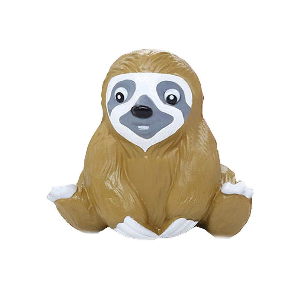 callm Jumbo Slow Rising Squishies Kawaii Squishy Slow Rising Cream Scented Charms Stress Reliever Toys (Cute Sloth)