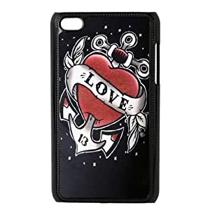 Custom Anchor Back Diy For Touch 5 Case Cover JNIPOD4-488