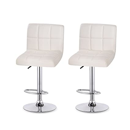 modern leather bar stools. Homdox Bar Stools, Hydraulic Modern Leather Swivel Adjustable Stool Used For Counter, Family Stools O