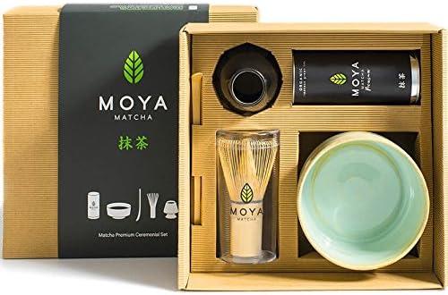 Moya Matcha Té Verde Orgánico Japonés En Polvo Set | 30g Prima ...