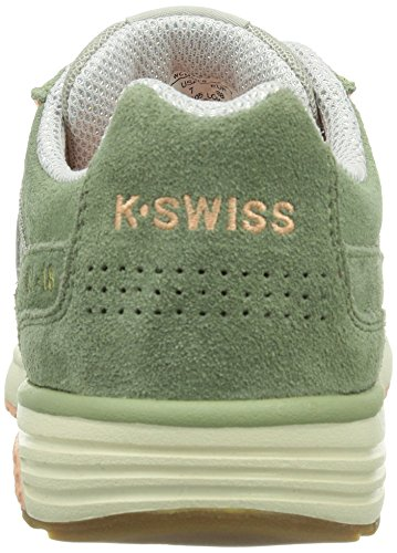 K-Swiss - Sneaker Si-18 Rannell 2-W Donna, Multicolore (Mehrfarbig (Canteen/Peach Nectar/Antique White/305)), 39.5 (6 UK)