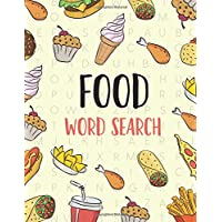 Food Word Search: Large Print Word Search Puzzles for Adults