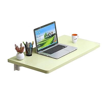 LXLA- Tavolo da studio per computer Tavolo pieghevole da parete ...