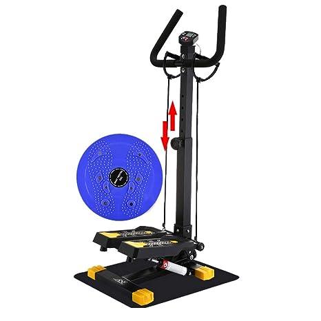 H.ZHOU Máquinas de Step, Pantalla LCD Multifunción Pedal Grande ...
