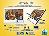Yiynova MVP22U(V3)+RH Full HD Tablet Monitor,IPS Panel, DVII Digital Input (Mac & Windows & Linux)