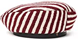 Brixton - Womens Audrey II Beret Hat, Size: Small, Color: Burgundy/Cream