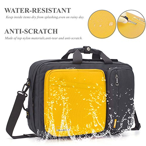 5cc219ea4c06 Convertible Laptop Bag Backpack,SOCKO Multi-functional Water ...