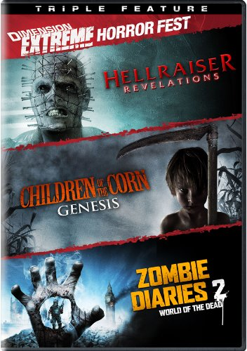 Dimension Extreme Horror Fest (Hellraiser: Revelations / Children of the Corn: Genesis / Zombie Diaries 2: World of the Dead) (Triple Feature) by Dimension Extreme