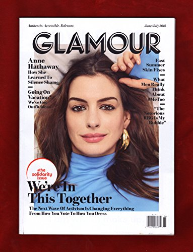 Glamour Magazine June/July 2018   Anne Hathaway – Solidarity Issue