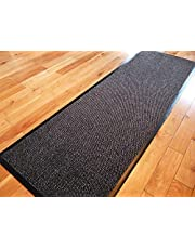 TrendMakers Dirt Stopper Carpet Runner 60cm x 160cm Grey/Black.With Non-Slip Back RRP £29.99