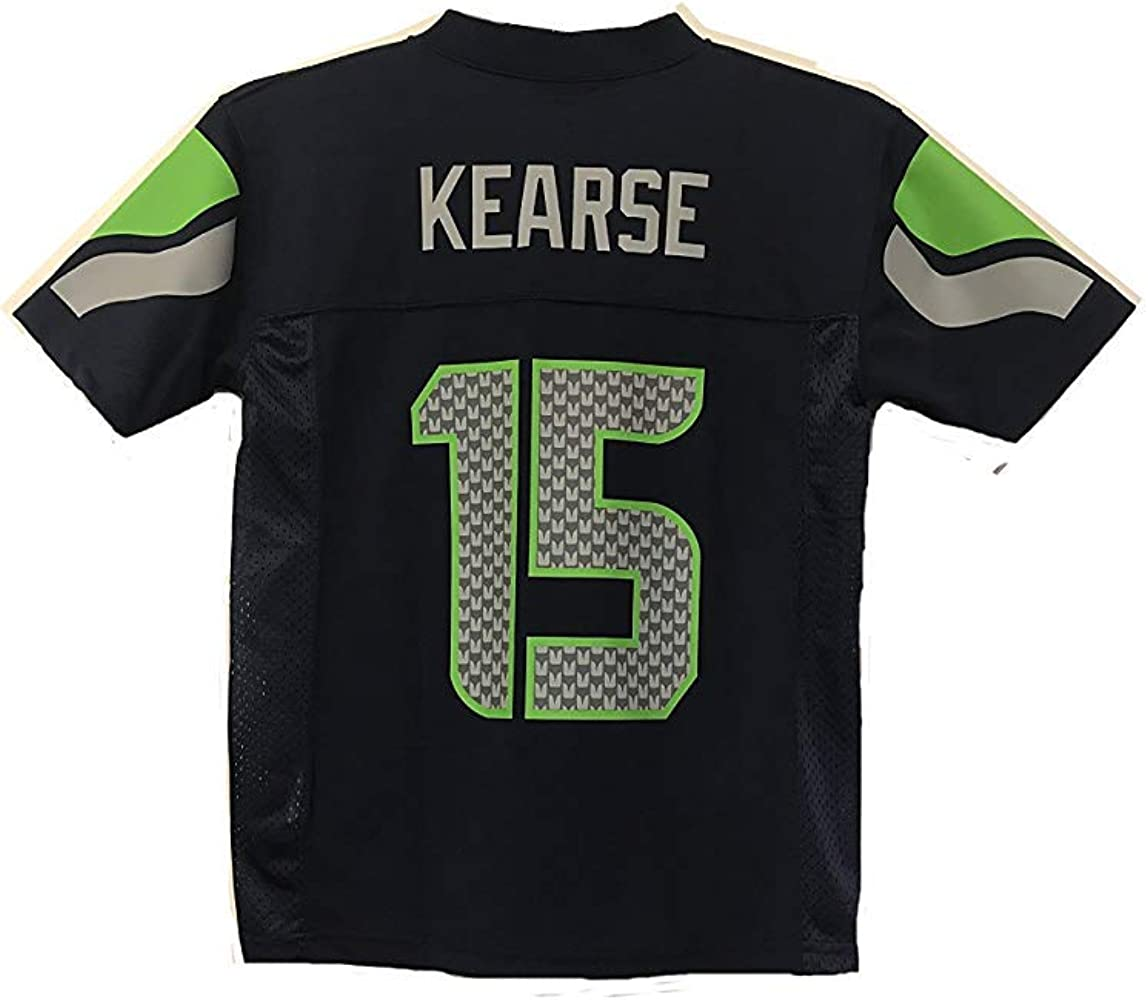 quality design ca842 735db Jermaine Kearse Seattle Seahawks NFL Youth Navy Home Mid-Tier Jersey