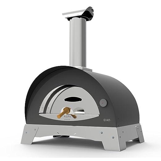 Alfa Horno de Leña para exterior Cocina directa de acero Pizza ...