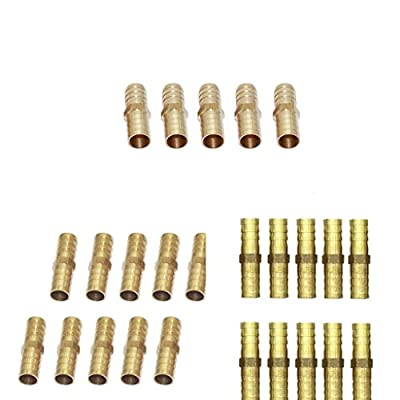 Baoblaze 25Pieces Male Quick Release Compressed Air Line Coupler Connector End Fitting Joiner 10/12/14mm