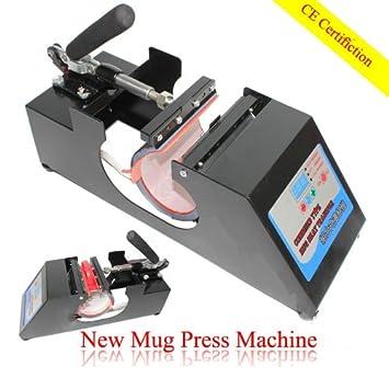 Amazon.com: GOWE nueva Máquina de Digital taza de prensa ...