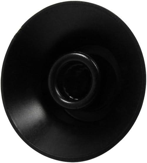 Negro IKN 2 Tonos 2 Perillas de volumen Set Top Hat Bell Perillas de control de velocidad de volumen de tono de guitarra de pl/ástico para SG Les Paul Style Guitar