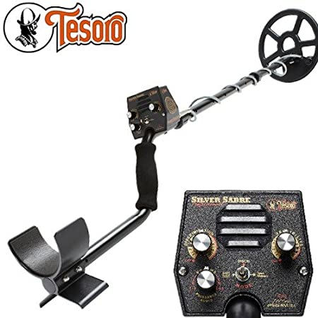 Tesoro Metal Detector Silver Sabre Pro with Protector Disc